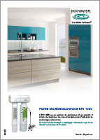 Filtro microbiológico EPS 1000 EcoWater Systems